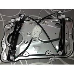 Podizač stakla Škoda Fabia mehanizam podizača stakla Fabia kompletan sa limom levi desni električni bez motora