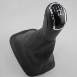 Ručica menjača Škoda Fabia hrom niklovana sa kožicom Ručica menjača Fabia do 2007